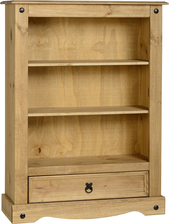 Pablo 1 Drawer Bookcase
