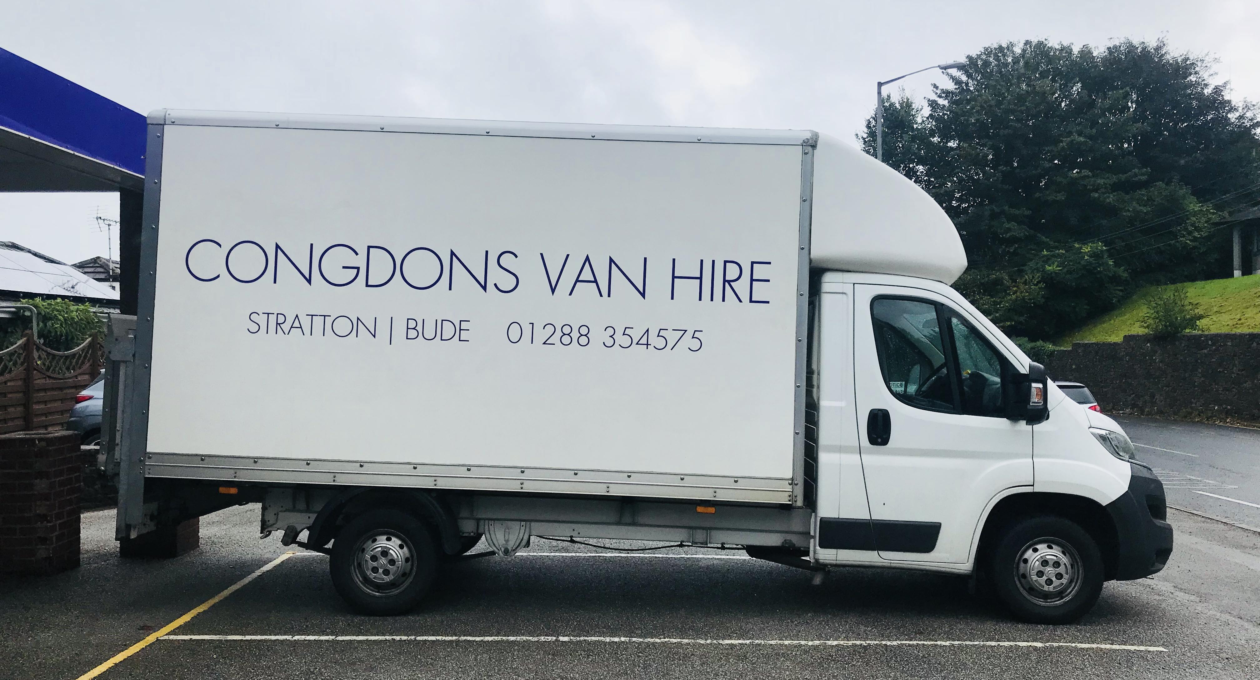 4af519a22d Congdons Van Hire Services